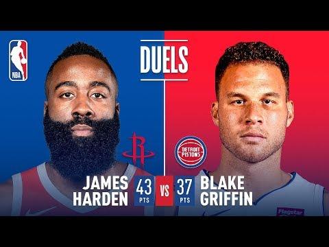 Duel In Houston: James Harden vs Blake Griffin | November 21, 2018
