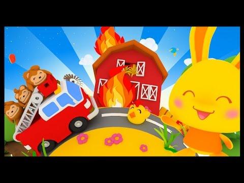Au feu les pompiers - Chansons et comptines pour enfants - Méli et Touni compilation