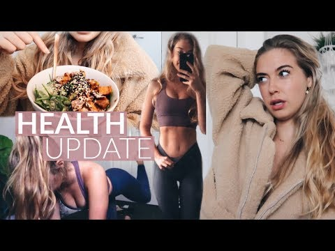 Getting HEALTHY Again | Body/Diet Update, At-Home Workout & Tough Days ♡