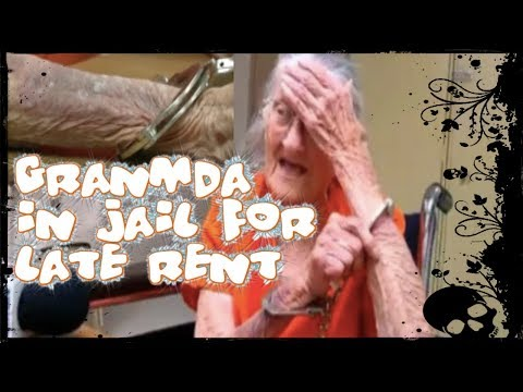 93 Old Grandma Handcuffs In Jail For 3 Months Late Rent to Non Profit National Church Residences