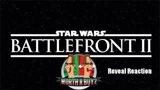 Star Wars Battlefront II Reveal Trailer Reactions