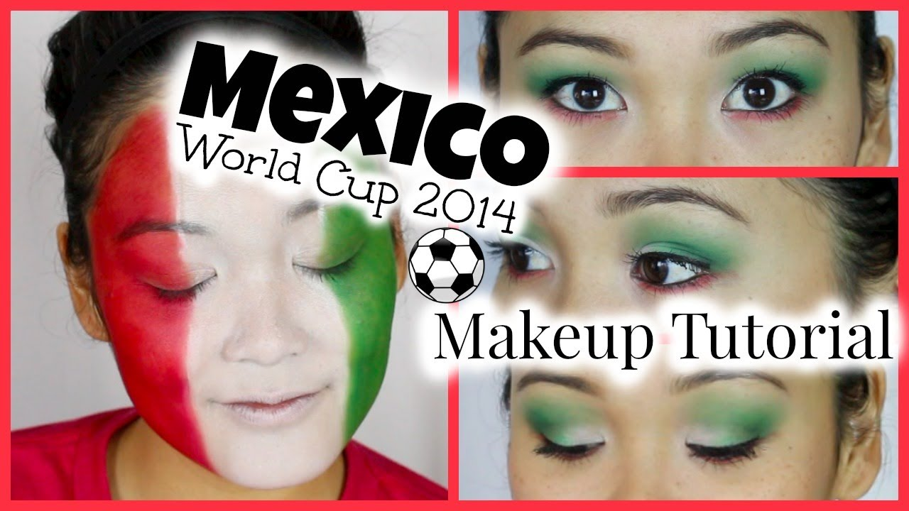 Mexico World Cup 2014 Makeup Tutorial