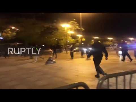 France: Nine football fans injured after bar attack in Paris