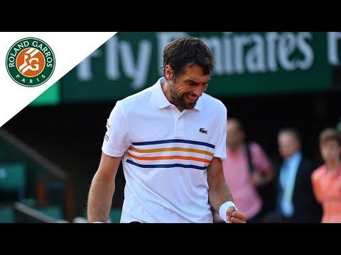 Tomas Berdych vs Jeremy Chardy - Round 1 Highlights I Roland-Garros 2018
