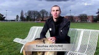 TIMOTHEE ADOLPHE - PORTRAIT - Handisport TV