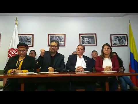 Las FARC se pronuncia sobre captura de Jesús Santrich