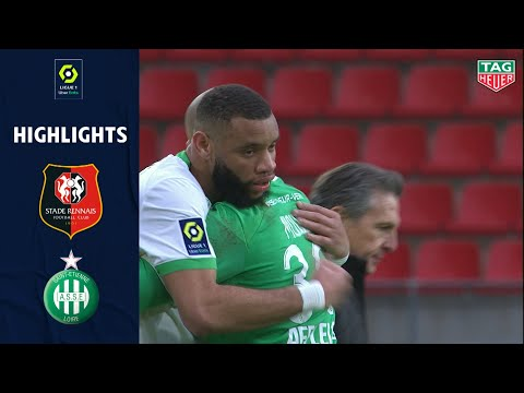 Rennes St. Etienne Goals And Highlights