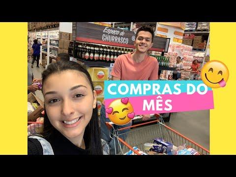 COMPRAS DO MÊS NO ASSAÍ -  JANEIRO  + QUANTO GASTAMOS | Jéssica Marques