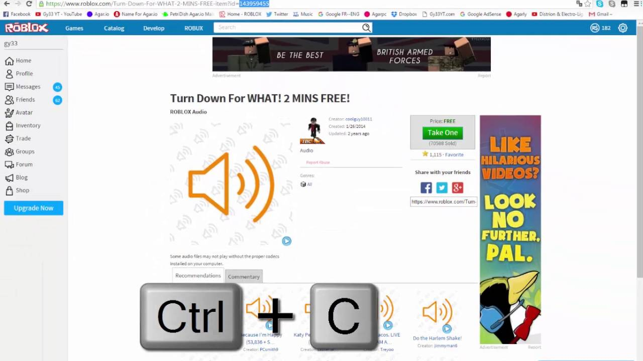 Roblox Studio How To Add Music In Your Game For Free Youtube