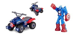 Captain America Toddler Quad Ride on Toy