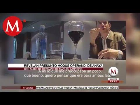 """Filtran video del presunto """"modus operandi"""" de Anaya y Barreiro para lavar dinero"""