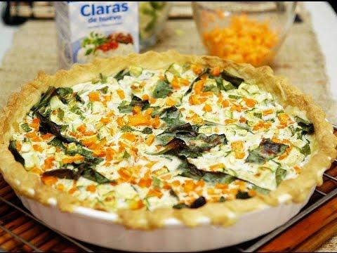 quiche de verduras y queso receta f cil de preparar