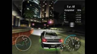 Need For Speed Underground 2 Gameplay [HD - 1080p] @ E8400 3 Ghz GTS250 1GB 4GB Ram