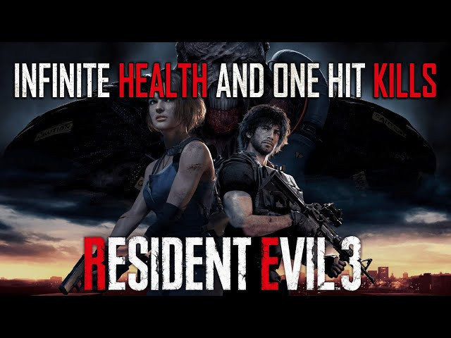 Resident Evil 3 Remake: INFINITE HEALTH and ONE HIT ENEMIES