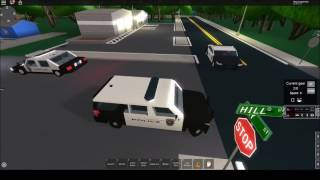 Roblox- DOJ Cops #3- Ford Explorer and Crown Vic Patrol! (Law Enforcement)