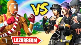 LAZARBEAM ARMY vs TTV BTW ARMY  |  SKIN WARS 4