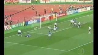 Copa 2002: Brasil 2x1 Inglaterra