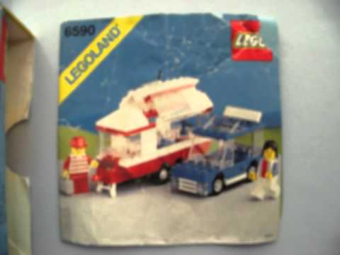LEGO 6590 VACATION CAMPER N899