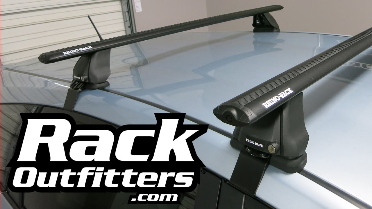 Toyota Prius V With Rhino Rack Vortex 2500 Roof Rack By Rack Outfitters    YouTube