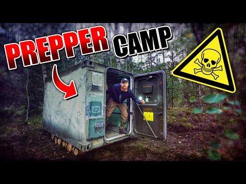 ROOMTOUR vom Container - Prepper Camp #002 | Fritz Meinecke