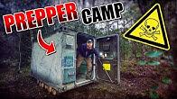 ROOMTOUR vom Container - Prepper Camp #002   Fritz Meinecke