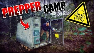 ROOMTOUR vom Container - Prepper Camp #002 | Fritz Meinecke