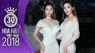KỲ DUYÊN vs ĐỖ MỸ LINH: Catwalk và thần thái ai hơn ai? Hoa hậu Việt Nam 2018