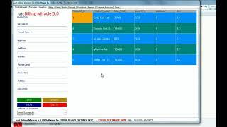 Furniture shop billing software -