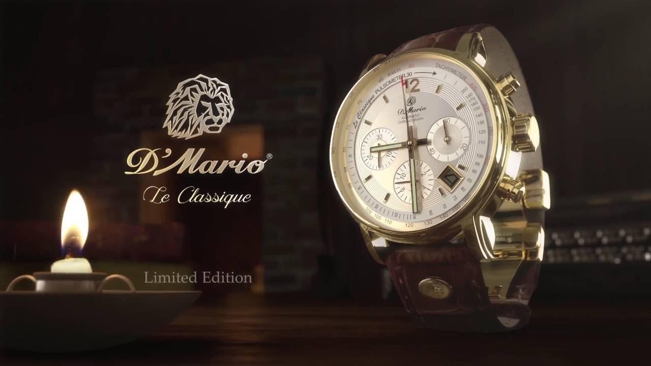 Le Classique limited edition - Relojes D'Mario - YouTube 3e5748a4a766