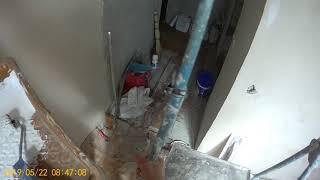 Ремонт квартиры. Потолок на кухне. Ч3