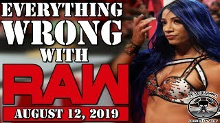 SASHA BANKS RETURNS to Raw!! WWE Raw August 12, 2019 Full Show Highlights | King of The Ring Returns