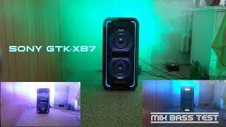 Sony GTK-XB7 - Mix Bass test 🔊