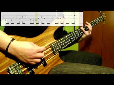 Electric Light Orchestra - Last Train To London (Bass Cover) (Play Along Tabs In Video)