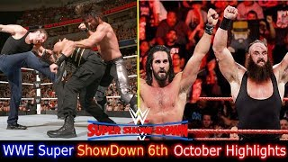 Trending Now WWE Super Showdown 6th October 2018 Highlights Hindi P...
