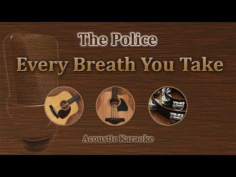 Every Breath You Take - The Police (Acoustic Karaoke)