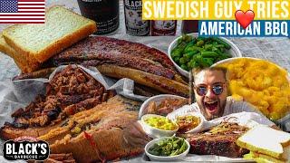 SWEDISH GUY TRIES AMERICAN BBQ | MATVRAKET VRÄKER 7 (Austin)