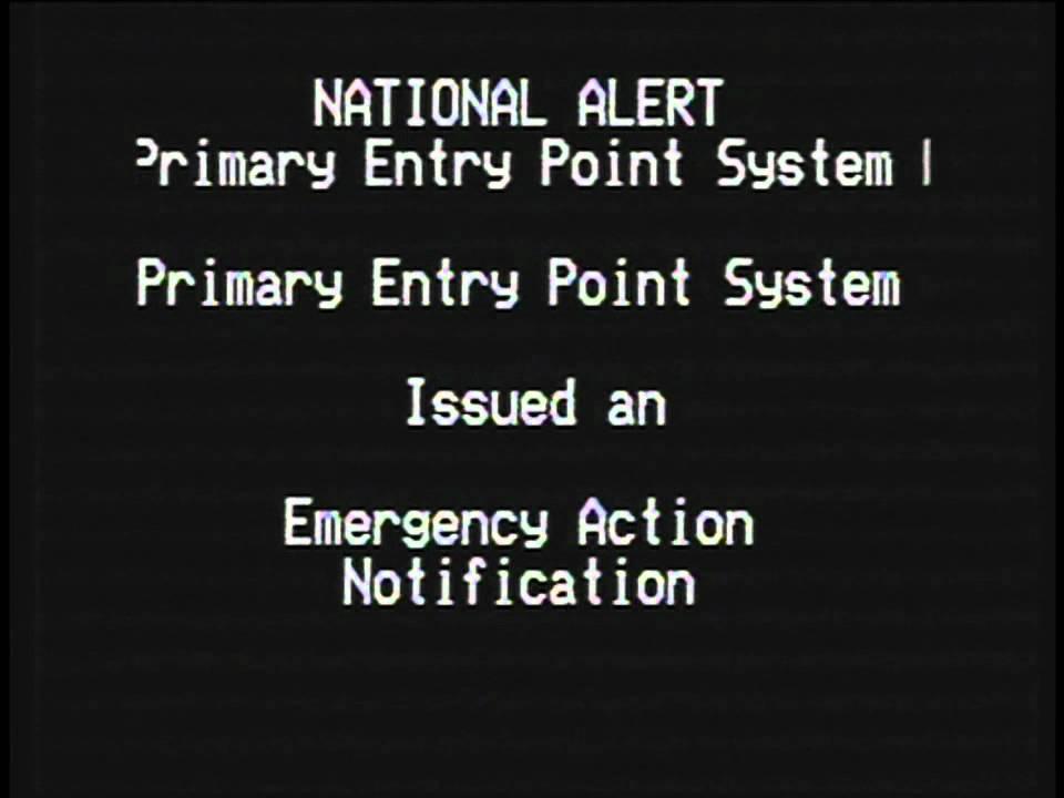 National Emergency Alert System Test (November 9, 2011) - YouTube