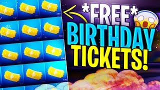 How To Get UNLIMITED Fortnite BIRTHDAY TICKETS! (FAST) - Fortnite Save The World