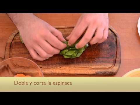 Cómo preparar una ensalada de verduras de estación y granos de ma ...
