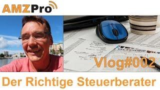 Der Richtige Steuerberater - Nr. 002 Vlog - #036- AMZPro