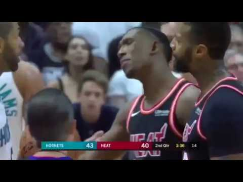 Nicolas Batum Throws Basketball at Josh Richardson's nuts 😂😂
