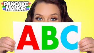ALPHABET SONG ♫| ABC Song for Kids | Pancake Manor