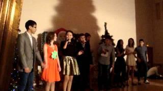 Новогодняя песня от 9б класса