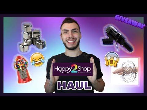 HAUL ΑΠΟ ΤΟ HAPPY2SHOP + GIVEAWAY | Tsede The Real