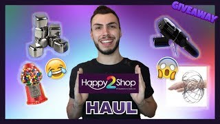 HAUL ΑΠΟ ΤΟ HAPPY2SHOP + GIVEAWAY | Tsede The Real