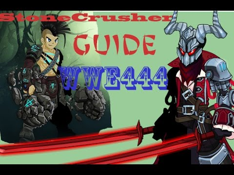 how to get stonecrusher free aqw