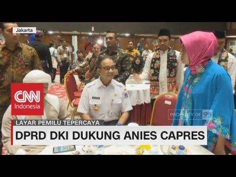 DPRD DKI Dukung Anies Capres