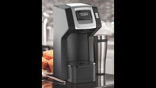 Unboxing/Review Hamilton Beach FlexBew SingleServe Coffee Maker