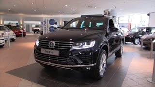 Volkswagen Touareg 2016 In Depth Review Interior Exterior