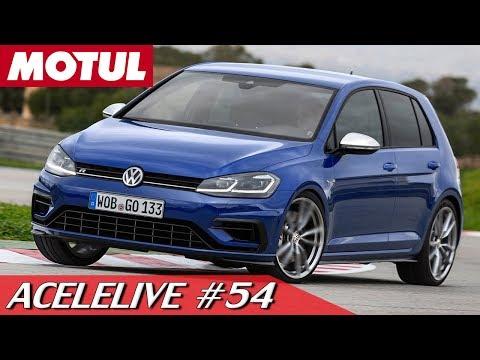 DIRIGIMOS O VW GOLF R! CONFIRAM AS PRIMEIRAS IMPRESSÕES - ACELELIVE #54